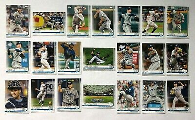 Tampa Bay Rays 2019 Topps Series 1 & 2 Base Team Set *21 cards* Lowe RC Meadows