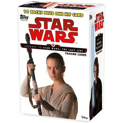 Star Wars Journey to The Last Jedi 10 Pack Box (Topps 2017) Factory Sealed Box