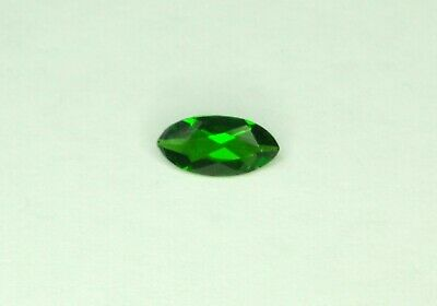 0.46ct Russian Chrome Diopside. Marquise. 8x4mm