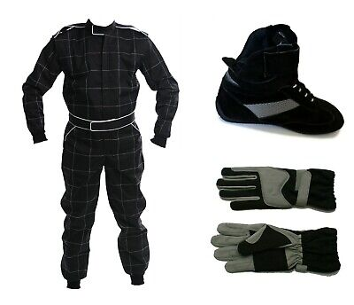 Kart CIK 2013 Level 2 SUIT Package inc BOOTS & GLOVES  - ADULT sizes
