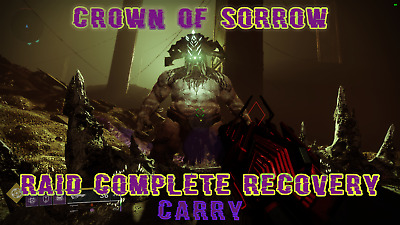 [PC] Destiny 2 Crown of Sorrow Raid Complete Account Recovery/Carry