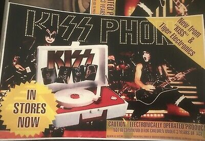Kiss Custom Record Player Promo Poster 11x17 inches.
