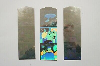 Star Trek 3 hologram bookmarks 1992