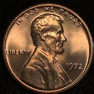 1972 Lincoln Cent Double Die Obverse Gorgeous Ms Ddo Gem Collect All 9 $$$$$$$$$