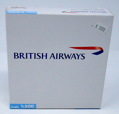 Herpa 1/500 Boeing 777-200  British Airways Canada Diecast Airliner MIB