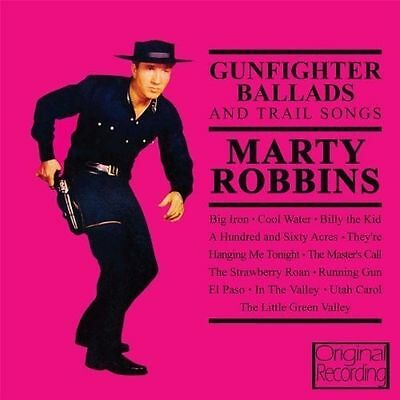 Marty Robbins Gunfighter Ballads and Trail Songs (CD, Hallmark)
