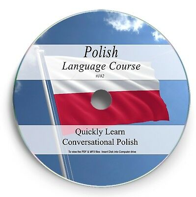 LEARN TO SPEAK POLISH - LANGUAGE COURSE - 3HRS AUDIO MP3 10 BOOKS PDF on DVD 182