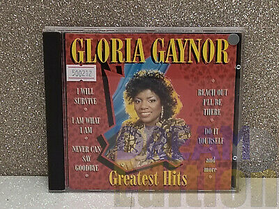 Gloria Gaynor: Greatest Hits [Tring} CD Anthology (199?) Electronic, Disco [DEd]