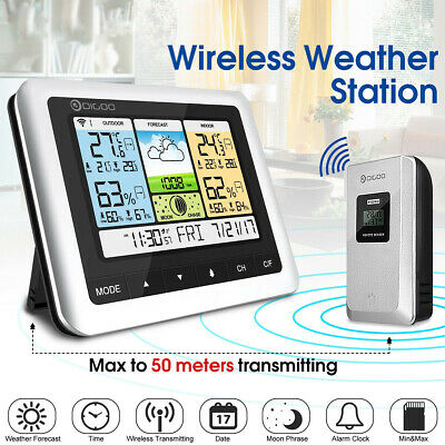 New Wireless Weather Station Barometer Thermometer USB Outdoor Forecast Sensor