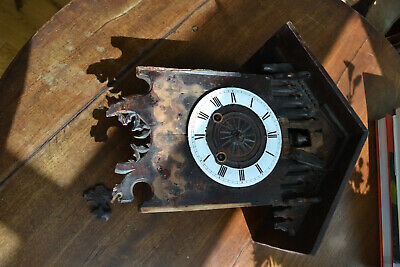 19c cuckoo wall clock for spares/restore