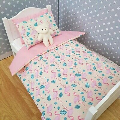 "18"" DOLL BEDDING SET - UNICORNS - To Fit Our Generation, Design A Friend, etc"