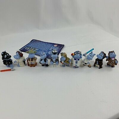 STAR WARS HIPPOS HIPPERIUM MINI COMIC BOOK KINDER SURPRISE TOYS COLLECTIBLES