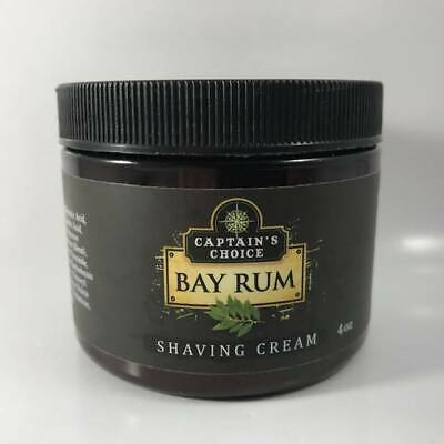 Bay Rum Shaving Cream - by Captain's Choice (Pre-Owned)