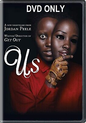 Us (2019) DVD ONLY *** The disc has never been watched *** Stars: Lupita Nyong'o