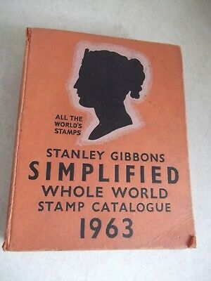 Stanley Gibbons World Stamp Catalogue 1963