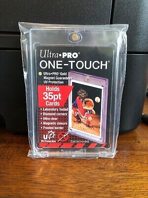 Ultra Pro One-Touch Regular Card 35 Point Card Holder - Lot of 5