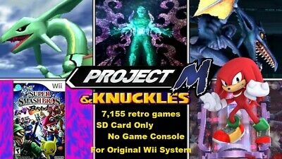 SUPER SMASH BROS Infinite Modded SD Card for Wii Systems