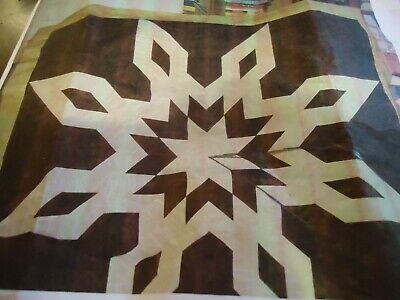 ARROWHEAD LONE STAR - Not Quilted, Made in the USA, Machine Pieced