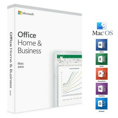 Genuine Microsoft Office Home and Business 2019 (1 MAC)