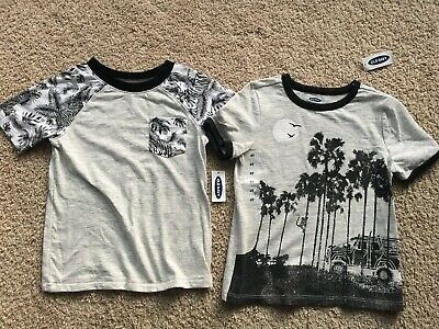 Boys SOPHIE /& SAM boutique t shirt 2T 4T 6 NWT coral beach surf boards palm tree