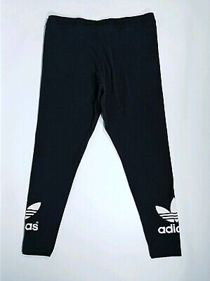 dbeae94aa3e46 Adidas Originals Trefoil Women's Leggings Black Size Large Running Jogging  Pants