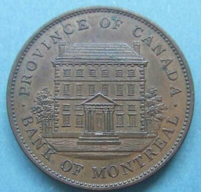 Canada - Large, excellent 1 Penny Token 1842....... My274