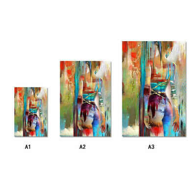 Buddha Statue Religious Art Wall Painting Canvas Print Picture Home Decor MO