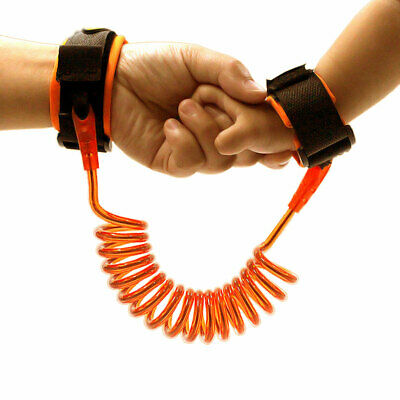 Toddler Kid Safety Anti-lost Strap Wrist Band Link Harness Child Belt 1.5M Lead