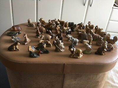 A collection of over 50 Wade Whimsies
