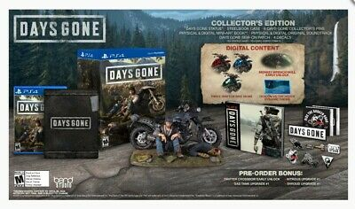 Days Gone Collector Edition, Ps4, Playstation 4, New! Only 1 Available!!!
