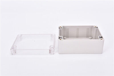 Waterproof 115*90*55MM Clear Cover Plastic Electronic Project Box Enclosure ZX