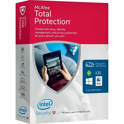 McAfee Total Protection  2019 ( 5 YEAR ). MAC,Win,Android FAST DOWNLOAD