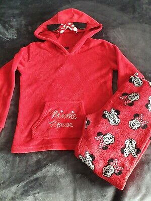 Disney Minnie Mouse Red Pyjamas 10-11 Years Christmas
