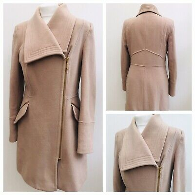 double coupon outlet for sale new lifestyle HOUSE OF FRASER Allander Pure Wool Ladies Camel Colour Coat ...