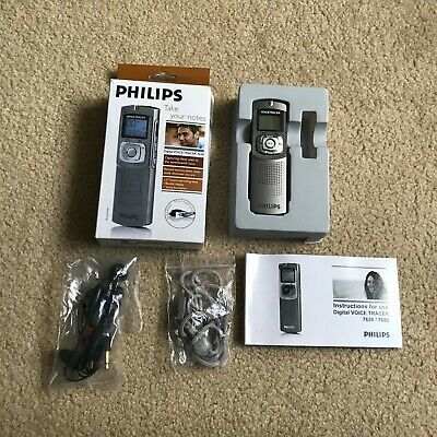 Philips Digital Voice Tracer 7630 - Boxed & Complete Dictaphone