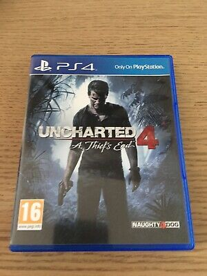 Uncharted 4 A Theif's End -  New Sony Ps4 Game