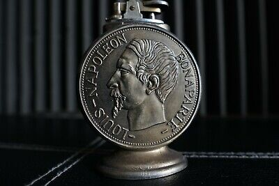 Table lighter - Louis - Napoleon Bonaparte - In pewter - Second half of the 20th