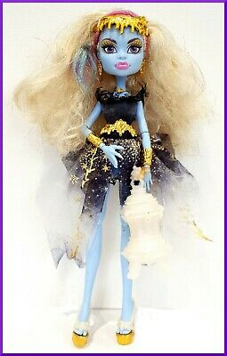 5. Mattel Monster High doll Abbey Bominable series 13 Wishes