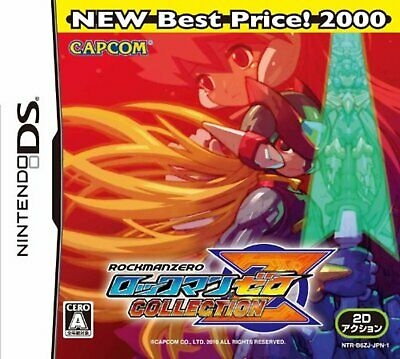 Mega Man Zero Collection NEW Best Price! 2000 Nintendo DS F/S w/Tracking# Japan