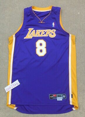 aba6592b878 KOBE BRYANT 2001 Los Angeles Lakers Nike game issued jersey authentic pro  cut