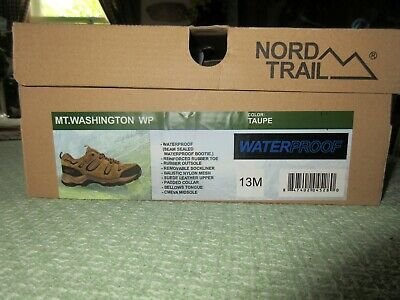 570b5d3473af0 MENS BASS PROPEL Trail Tour Waterproof Hiking Taupe Boots Size US ...