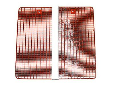 FRONT LOWER GRILLE PANEL (360mm x 380mm) FITS DAVID BROWN 885 TRACTORS.
