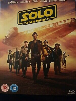 Solo: A Star Wars Story  - Blu-ray - New & Sealed