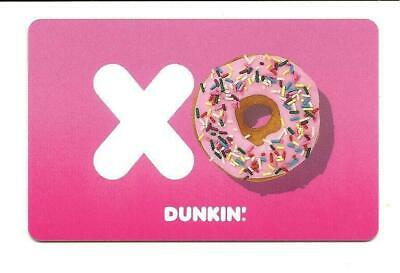 Dunkin' Donuts XO Gift Card No $ Value Collectible New 2019 Dunkin' Logo