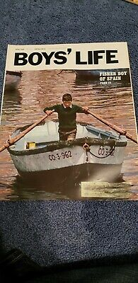 Vintage Boys' Life Magazine -April, 1969  -Fisher Boy Of Spain