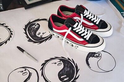 VANS STYLE 36 Decon SF Dane Reynolds Black And Red 13 Rare