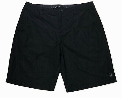 b7ddc6af7633f NWOT HANG TEN MEN'S HYBRID BOARD SHORTS Swim Trunks 4-Way Stretch Charcoal  Gray