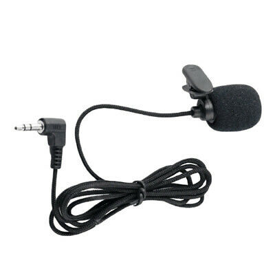 Creative Collar Clip Headset Microphone 3.5mm Interview Speech Mic Lecture