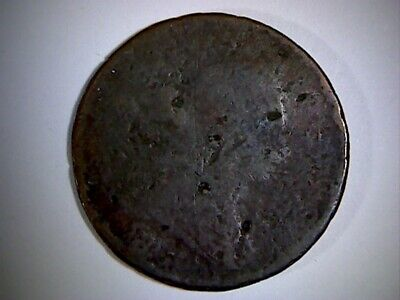 1806 United States Draped Bust Half Cent,  Old U.s. I/2 Cent Coin, Low Grade