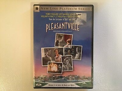 Pleasantville (DVD, 1998) Tobey Maguire Reese Witherspoon NEW FACTORY SEALED